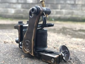 Bronze tattoo machine