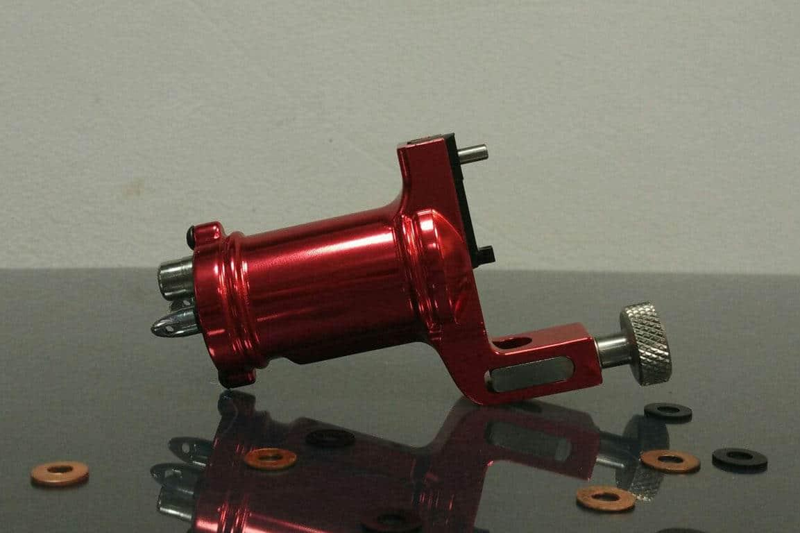 red slide rotary tattoo machine