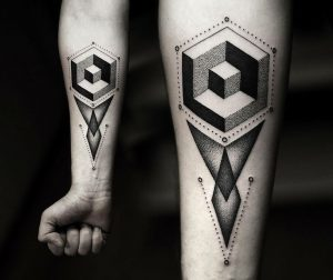 Contemporary tattoo 1