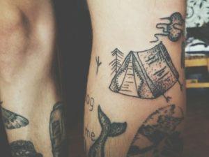 Homemade tattoos 1