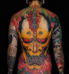 Tatouage japonais 1