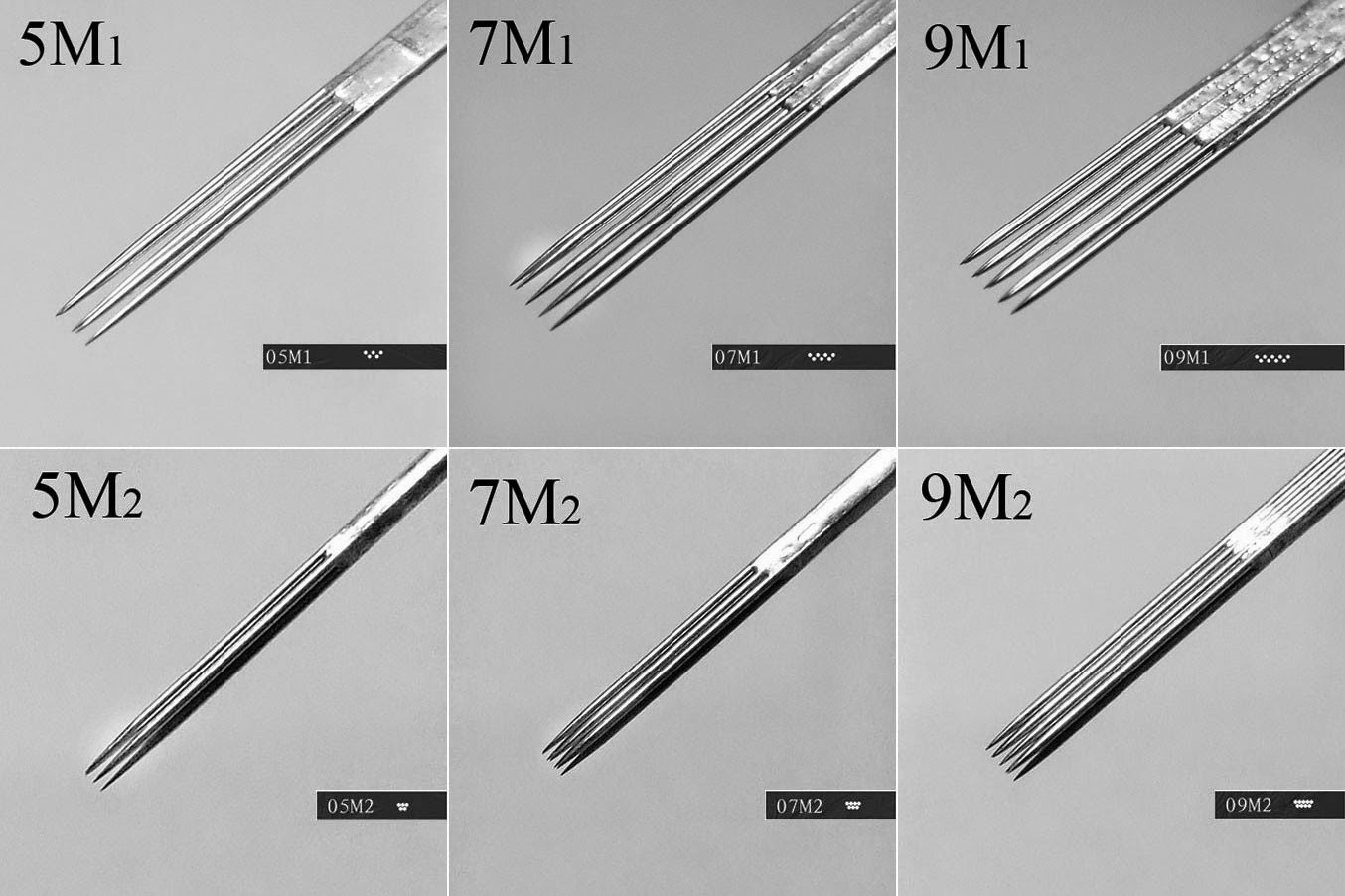 Different Tattoo Needles Tattooing Needles Types From Right Stuff