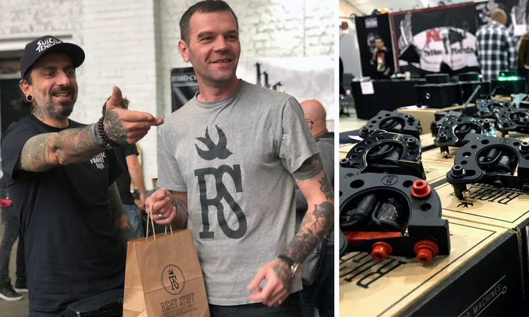 Success Story: The Birth of the RightStuf Tattoo Machines -year 2012 4