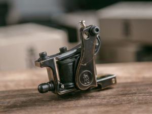 BONE Liner P.M Bronze Tattoo Machine