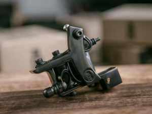 miniDOZZER TrueLiner Bronze Tattoo Machine
