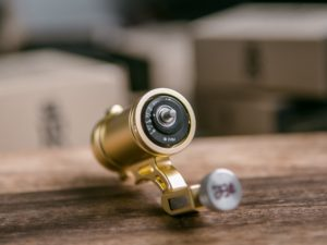 direct drive rotary tattoo machine - KEG Variable (Gold)