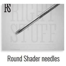 Round shader tattoo needles