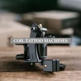 Coil tattoo machines