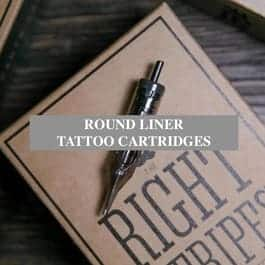 Round liner tattoo cartridges