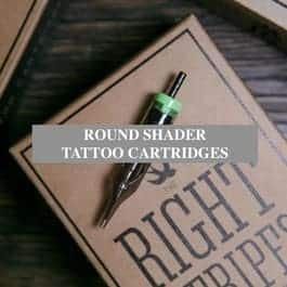 Round shader tattoo cartridges